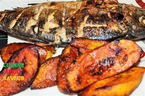 cuisine africaine camerounaise chinchard maquereau braisé poisson braisé cameroun