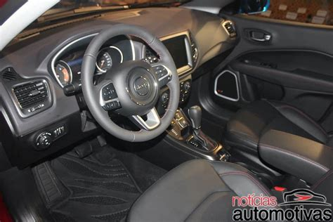 jeep compass 2016 interior 2017 jeep compass interior live image indian autos blog