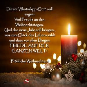 Weihnachtsgrüße Bild Whatsapp : weihnachtsgr e per whatsapp ~ Haus.voiturepedia.club Haus und Dekorationen