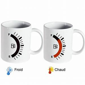 Cadeau Ado 13 Ans : mug magique chaud froid pour le caf jauge carburant essence ~ Preciouscoupons.com Idées de Décoration