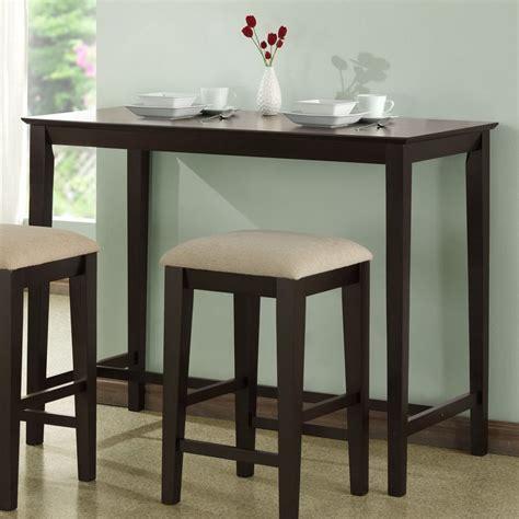 rectangular bar height table shop monarch specialties cappuccino rectangular counter