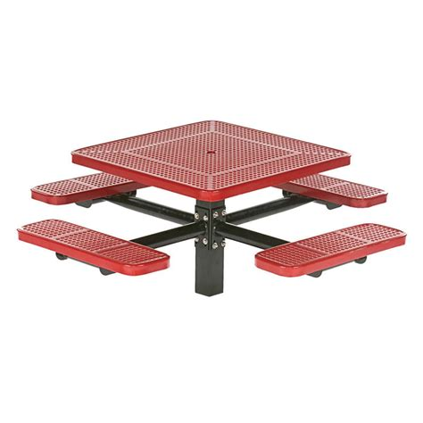 wabash 40 square table in ground krt concepts patio