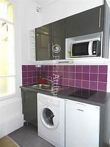 Petit Lave Linge Pour Studio : louer un appartement paris 75007 15m eiffel tower ~ Carolinahurricanesstore.com Idées de Décoration