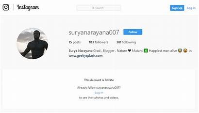 Instagram Private Profile Profiles Account Screenshot Truth