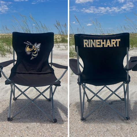 personalized chair coaches gift custom folding c