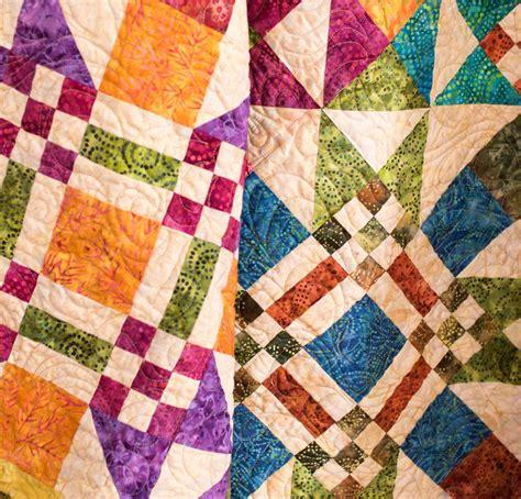 Quilt Kits by 6 Brilliant Batik Quilt Kits To Sew