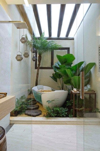 Bathroom Jungle Decor