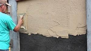Comment Faire Enduit Imitation Pierre : enduit traditionnel youtube ~ Melissatoandfro.com Idées de Décoration