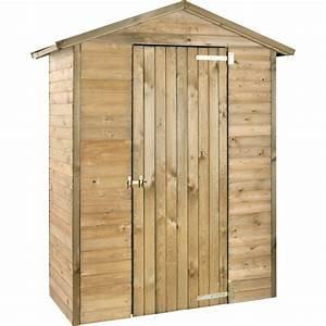 Armoire De Jardin Bois : armoire de jardin bois trait merina l175 h215 cm plantes et jardins ~ Teatrodelosmanantiales.com Idées de Décoration