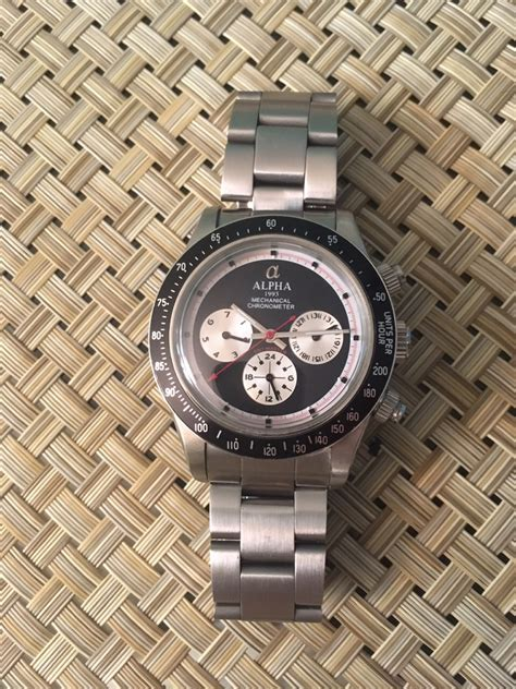 paul newman homage fsot alpha daytona paul newman homage black and silver