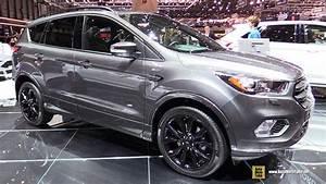 Ford Kuga 2017 St Line : 2017 ford kuga st line exterior and interior walkaround 2017 geneva motor show youtube ~ Medecine-chirurgie-esthetiques.com Avis de Voitures