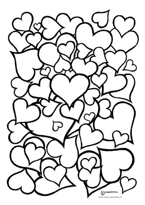 Kleurplaat Juf Valentijn by De Vrijheit Voorleeskioenen