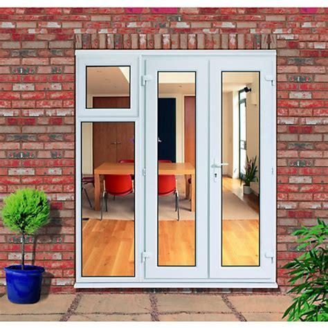 wickes upvc french doors ft   side sash panel mm