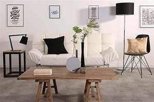 Tréteaux Pour Table : table basse avec mini tr teaux ~ Melissatoandfro.com Idées de Décoration