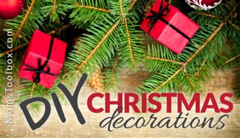 diy christmas decorations outdoor decor moms toolbox