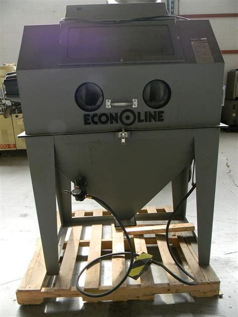 econoline blast cabinet gloves 40 x 40 x 30 econ 167764 for sale used n a