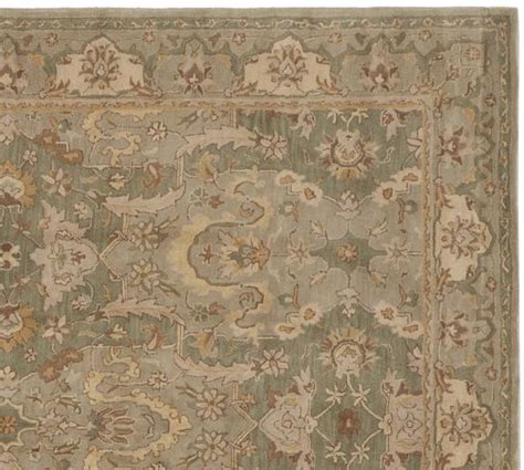pottery barn rugs reviews pottery thyme persian style rug pottery barn
