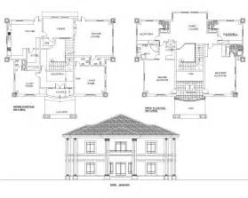 5 Bedroom Duplex House Plans detached 5bedroom duplex floor plan akz0062 arkiemz
