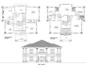 find floor plans by address detached 5bedroom duplex floor plan akz0062 arkiemz