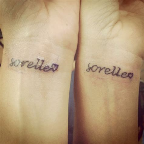 sister quotes tattoos in italian