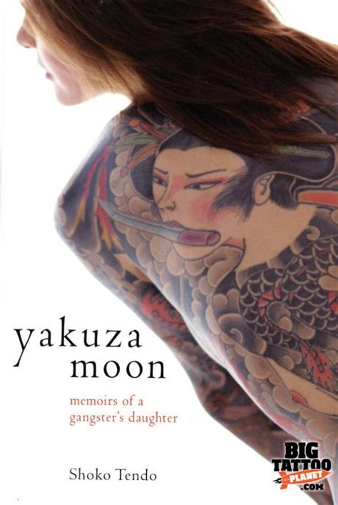 shoko tendo yakuzas daughter colour tattoo big
