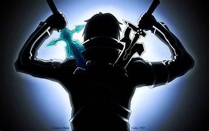 Kirito Sao Wallpapers Sword Fight Ready Epic
