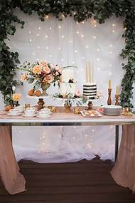 Elegant Birthday Party Table Ideas
