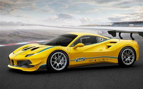 Wallpaper Ferrari 488 Challenge 2017 4k Automotive