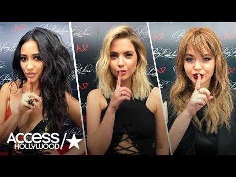 Shay Mitchell, Ashley Benson & Sasha Pieterse On Their ...