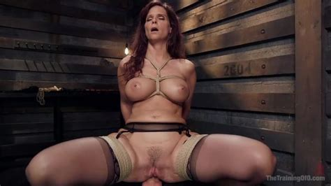 Busty Redhead Mature Slut In Bondage Needs A Big Penis Porn Video At XXX Dessert Tube