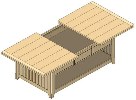diy plans  coffee table  storage  portable