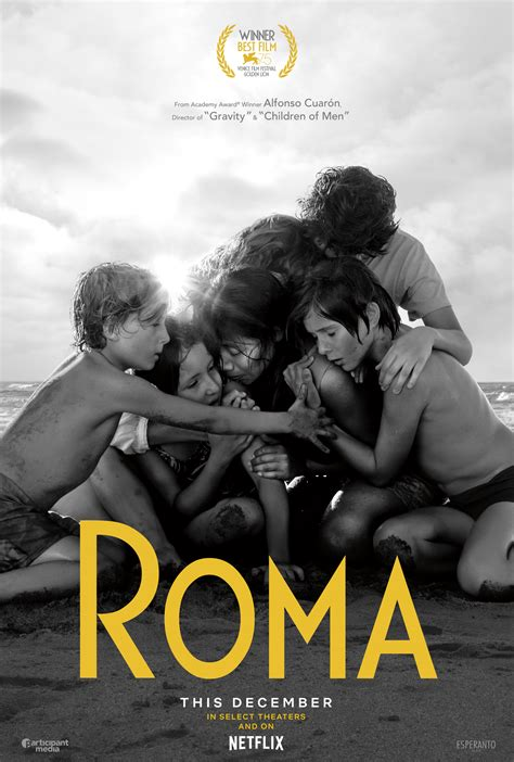 Official Poster To Director Alfonso Cuaron's Roma