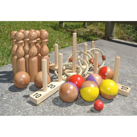 pack sp 233 cial jeux d ext 233 rieur en bois