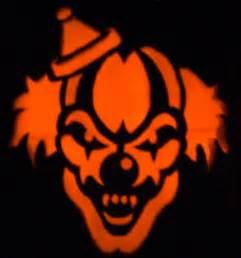 Clown Pumpkin Stencils Free by Evil Clown Stencils Scary Clown Holiday S Fright Night