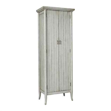 Pulaski Accents Wine Cabinet by Pulaski Accents Wine Cabinet In Distressed Grey 675005