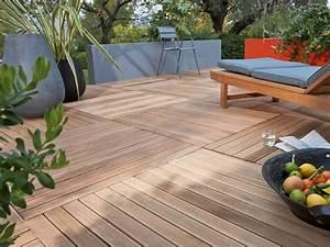 Dalle Bois Terrasse 100x100 : terrasse en bois 3 conseils pour faire le bon choix ~ Melissatoandfro.com Idées de Décoration