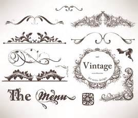 Classic Lace Pattern Vector Free
