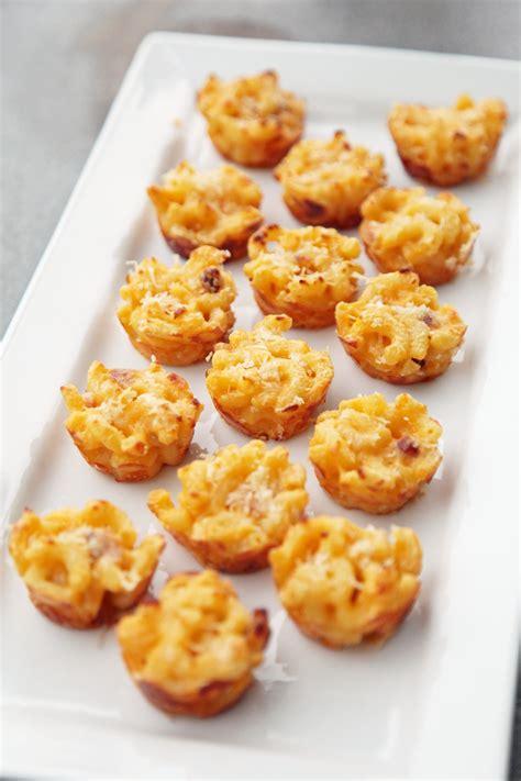 cuisine appetizer mini macaroni and cheese appetizer recipe popsugar food
