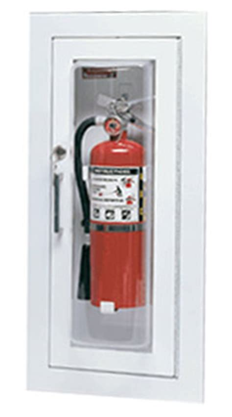 larsen s c2409r cameo series fire extinguisher cabinet