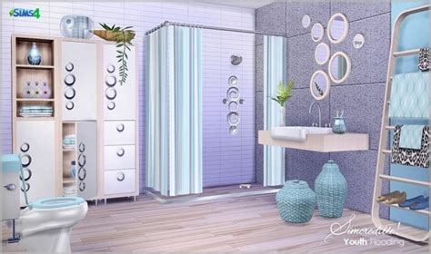 Youth Bathroom Decor youth flooding bathroom at simcredible designs 4 187 sims 4