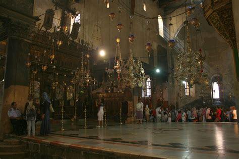 fileinterior   church   nativity bethlehem palestinejpg wikimedia commons