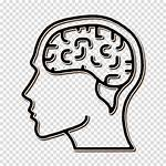 Brain Icon Mind Human Clipart Head Transparent