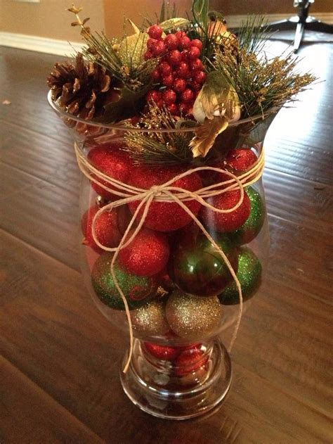 ideas  christmas vases  pinterest christmas
