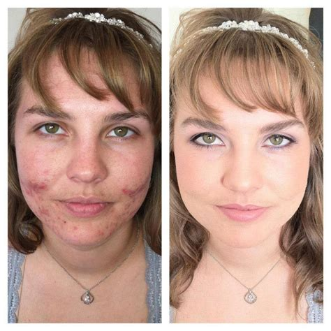 20 Before And After Photos From Using Airbrush Makeup