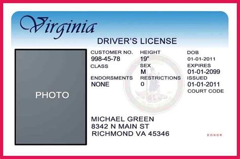 blank drivers license template sop examples