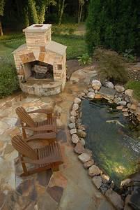 20, Beautiful, Backyard, Pond, Ideas