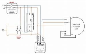 Bathroom  Loft  Extractor Wiring With Humidistat