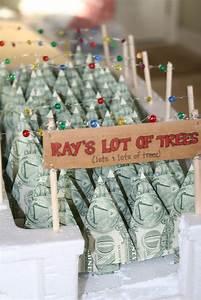 Creative way to give money. Christmas tree lot .Kim Knight ...