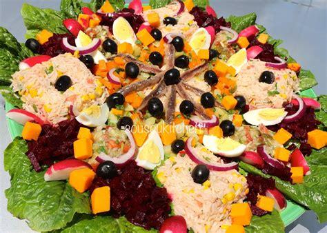 recette de cuisin salad recipe recette de salade sousoukitchen cuisine