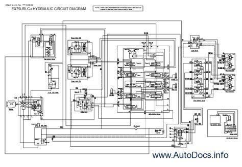 hitachi hydraulic excavators workshop service manual technical manual operational principle